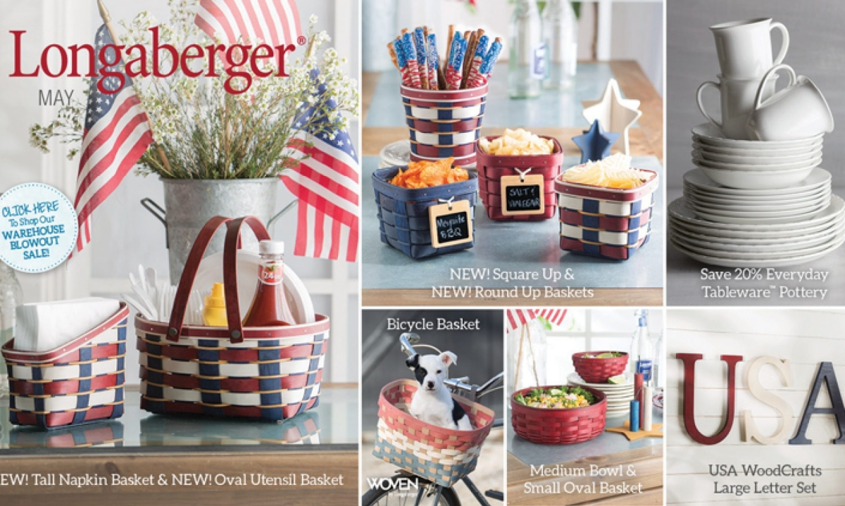 Home Design Gift Ideas: Longaberger Gift Baskets, Pottery, Home